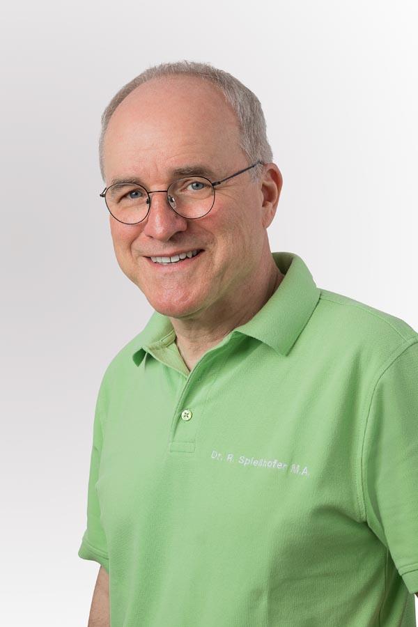 Dr. med. dent. Rainer Spießhofer M. A.